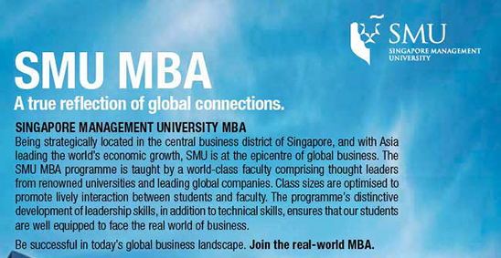 SMU MBA - A true reflection of global connections