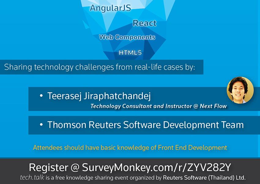 Thomson Reuters tech talk seminar