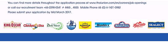 Thai Union jobs
