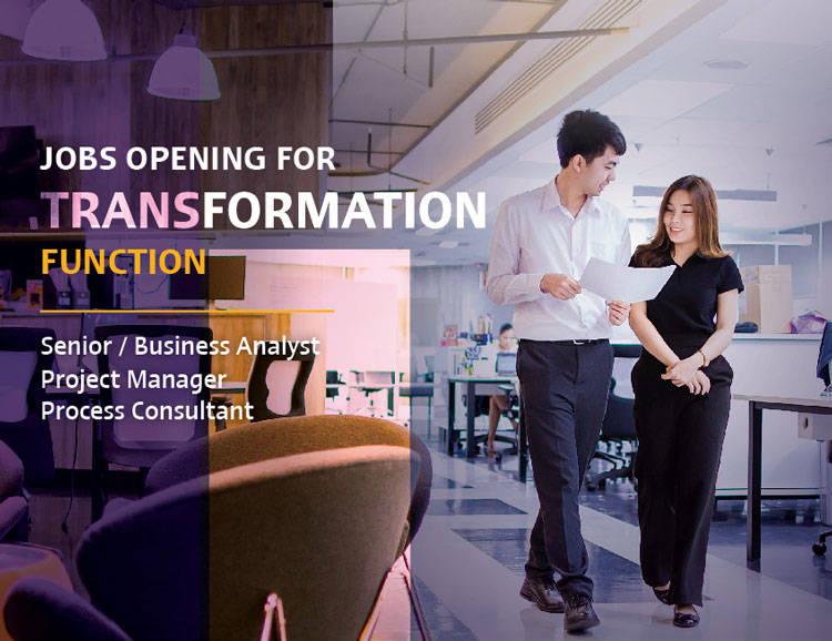 SCB transformation job function