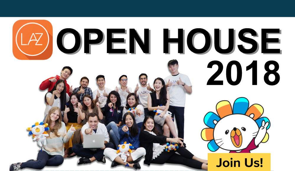 Lazada Open House 2018
