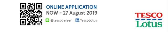 Tesco Lotus Management Trainnee Programme