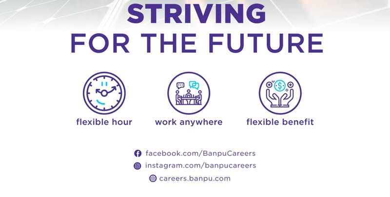 BANBU CAREERS STRIVING FOR THE FUTURE
