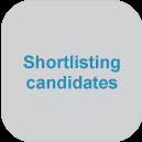 Shortlisting candidates at jobsDB Recruitment Centre