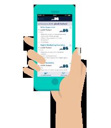 ดาวน์โหลด jobsDB mobile app