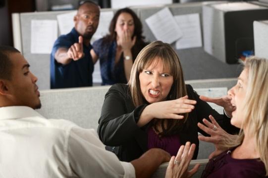 ความขัดแย้งในการทำงาน