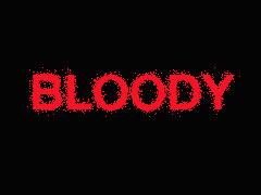 ตัวอักษรแบบเลือดสาด