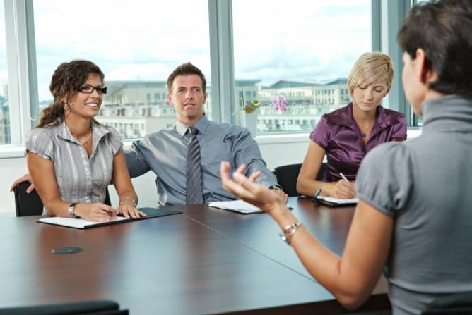วิธีการสัมภาษณ์งาน