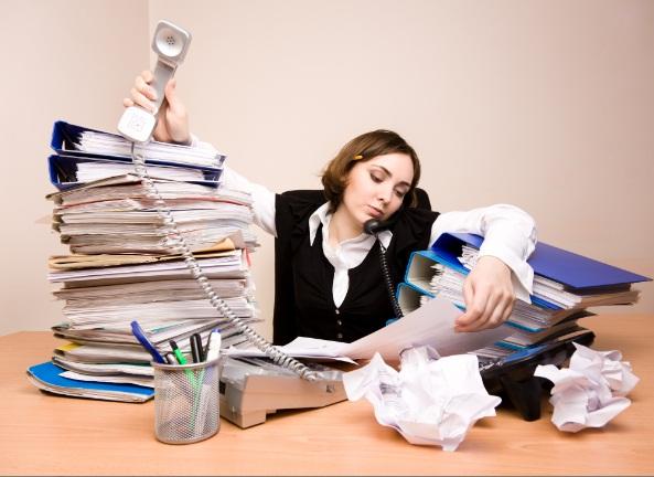 เหนื่อยล้าจากงาน