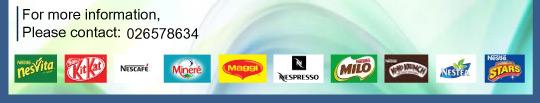 Contact Nestle