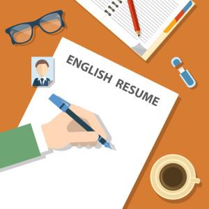 เขียน resume ภาษาอังกฤษ