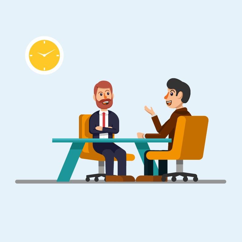 ความมั่นใจระหว่างสัมภาษณ์งาน
