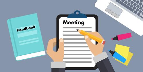 วิธีเขียนรายงานการประชุม